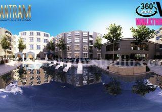 Animation-panoramique-virtuelle-à-360-degrés-par-Entreprise-de-rendu-architectural